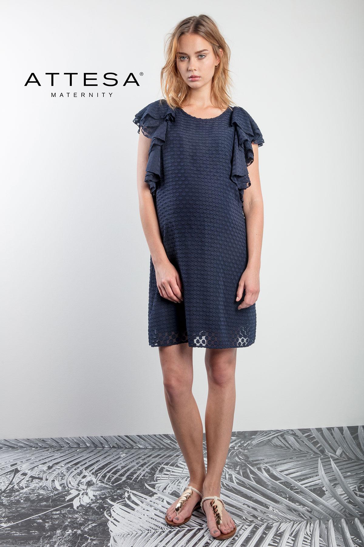 attesa maternity dress